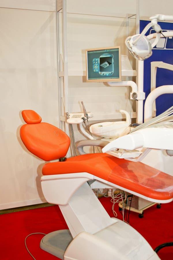 牙齿的椅子 库存照片