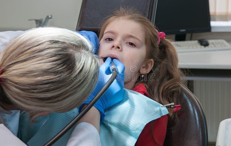 牙齿的诊所 库存图片
