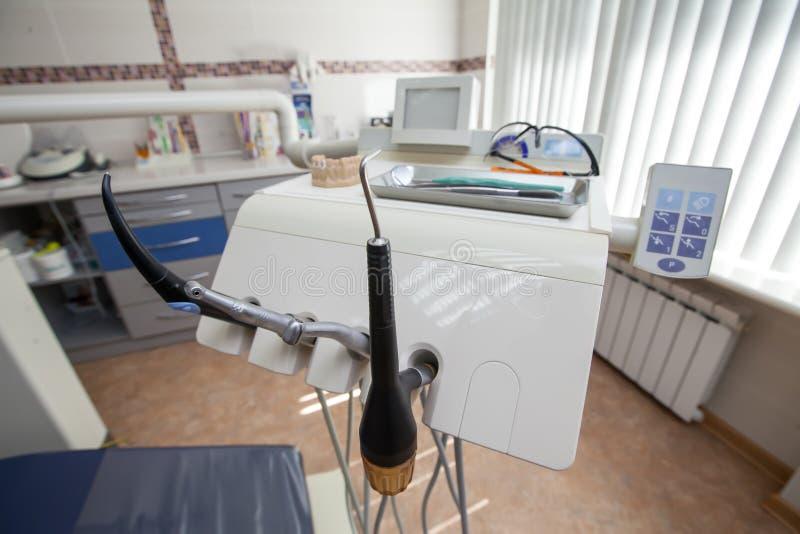 牙齿设备 库存图片