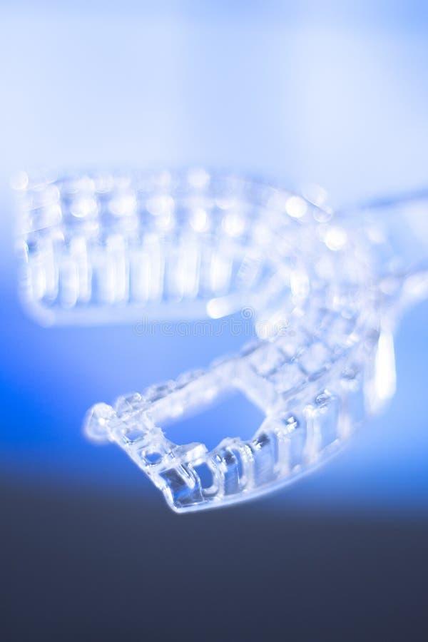 牙医牙齿牙正牙学模子 免版税图库摄影
