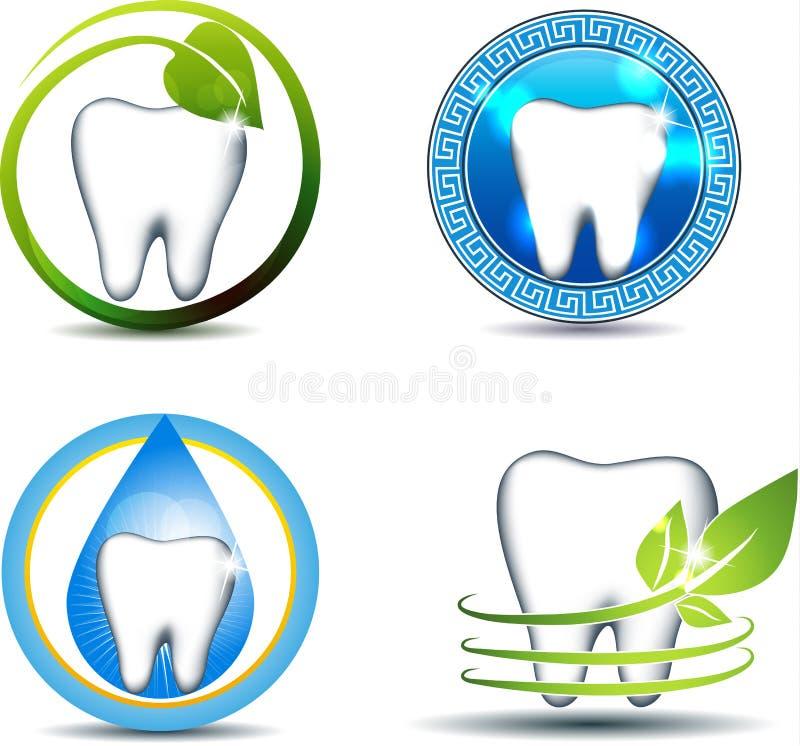 牙医疗保健 向量例证