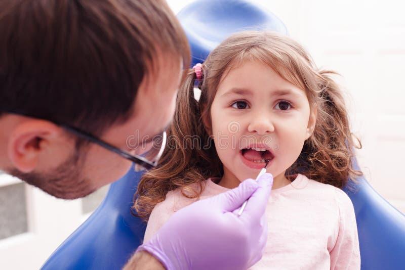 牙医的招待会 库存图片