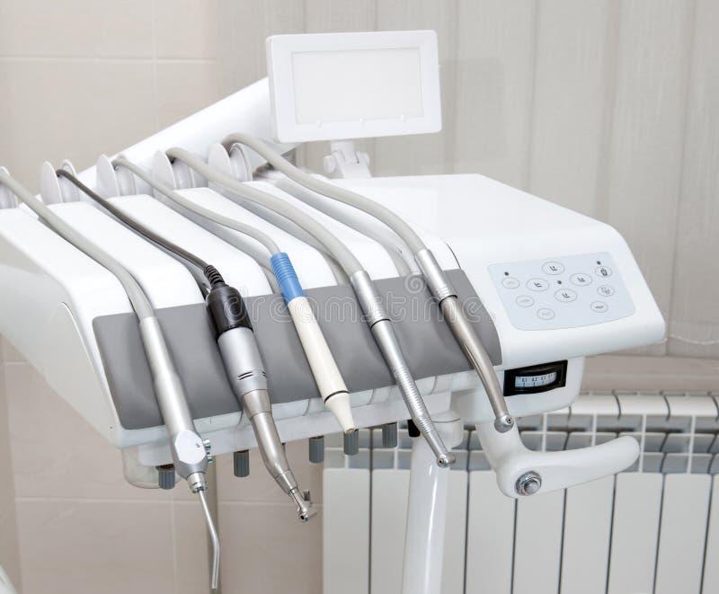 牙医设备 免版税库存图片