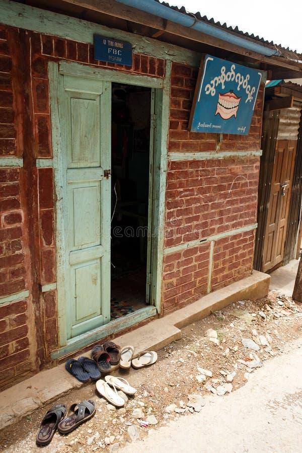 牙医, Falam,缅甸(缅甸) 免版税图库摄影