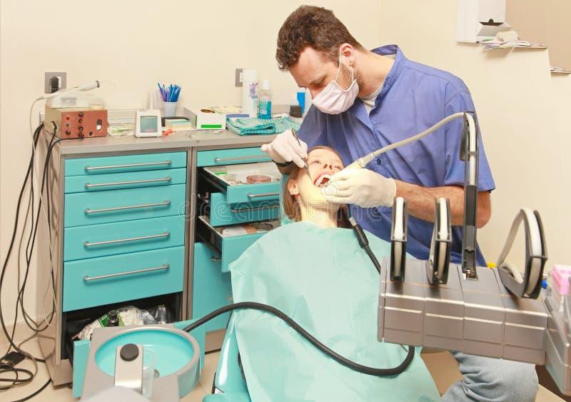 牙医 免版税图库摄影
