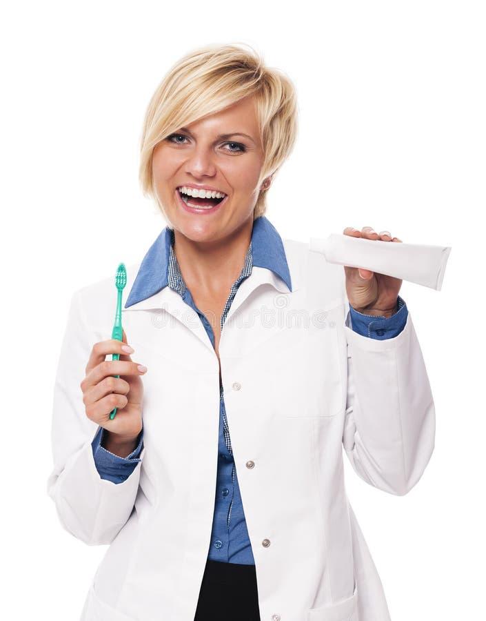 牙医 免版税库存照片