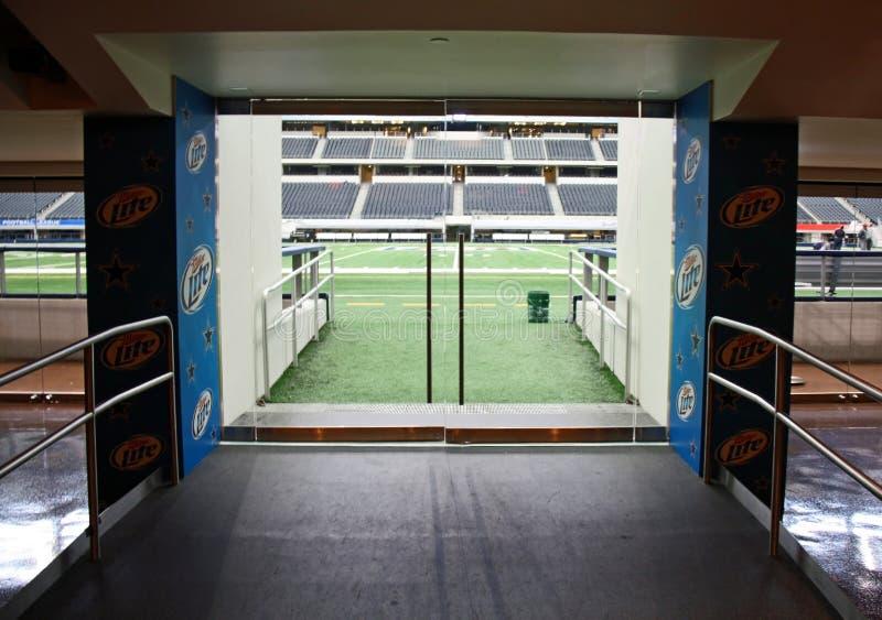 牛仔入口领域体育场 免版税库存图片