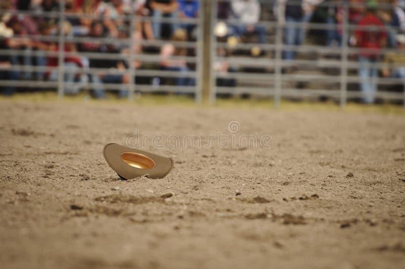 牛仔孤立女牛仔的帽子 库存图片
