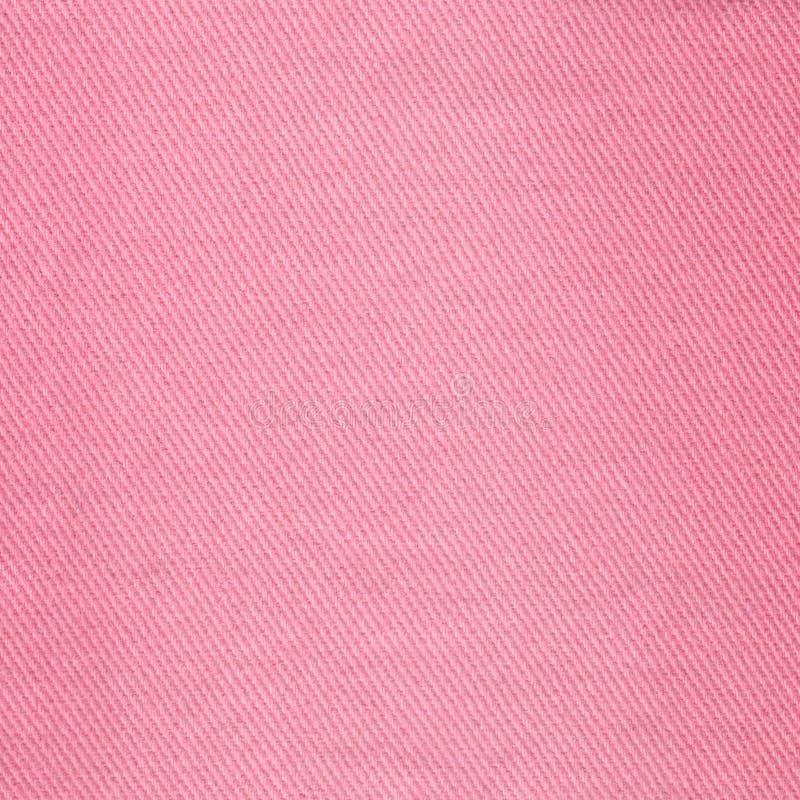 牛仔布牛仔裤纹理 设计的桃红色牛仔布背景纹理 C 免版税图库摄影