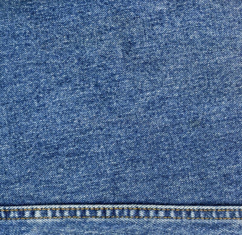牛仔布牛仔裤纹理 免版税库存照片