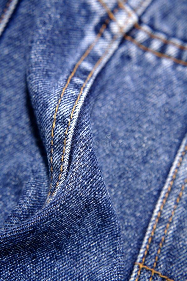 牛仔布牛仔裤 免版税库存照片