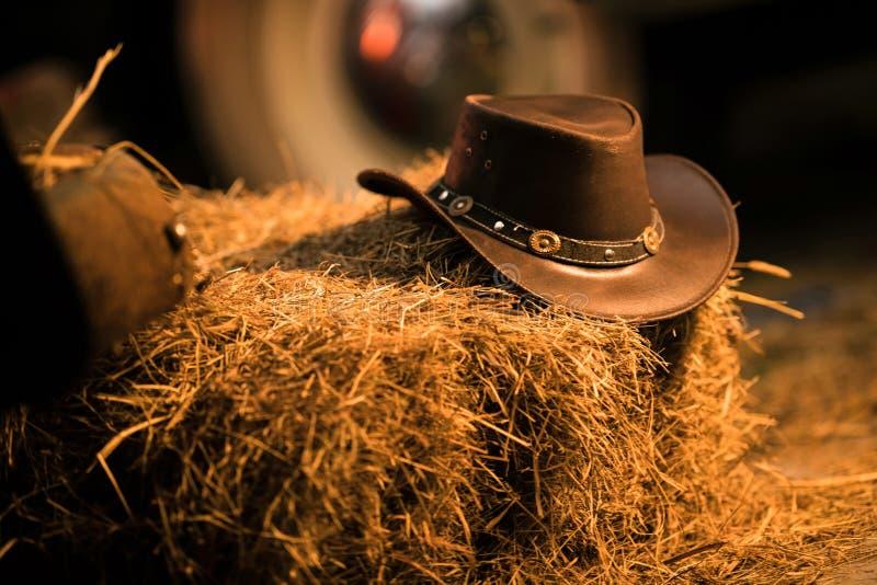 牛仔帽西部穿戴 库存照片