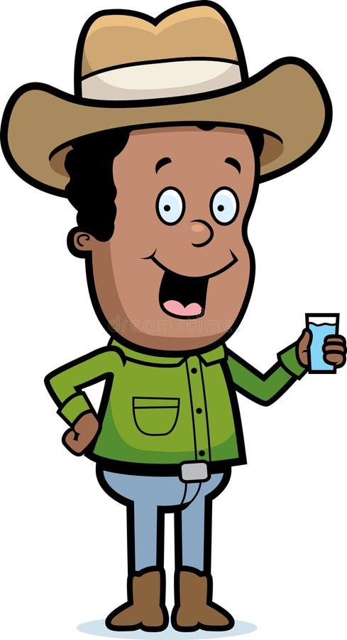 牛仔饮料 库存例证