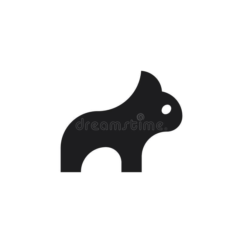 牛头犬 图库摄影