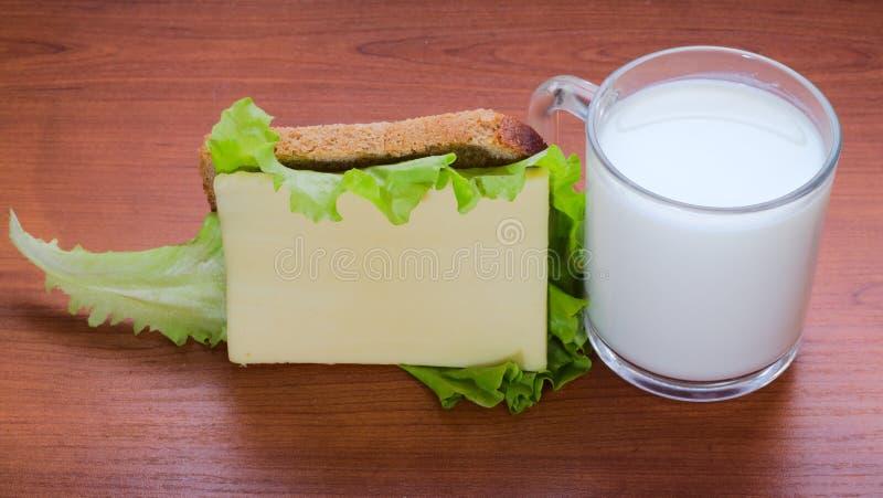牛奶店粮食生产射击工作室 库存图片