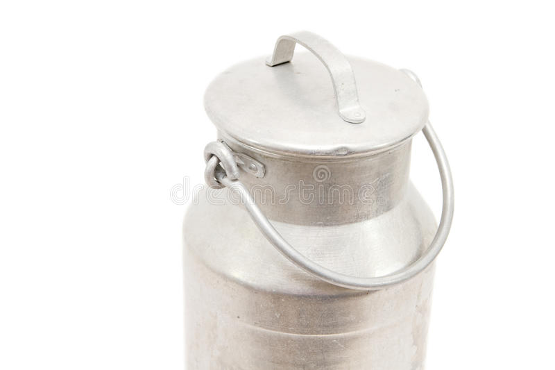 牛奶罐头 图库摄影