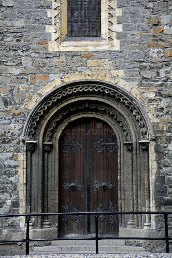 牛津大学基督堂学院,都伯林,爱尔兰 库存照片