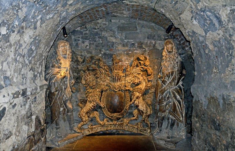牛津大学基督堂学院,都伯林,爱尔兰 免版税库存照片