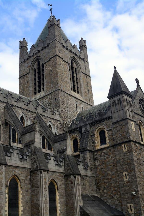 牛津大学基督堂学院,都伯林,爱尔兰 图库摄影