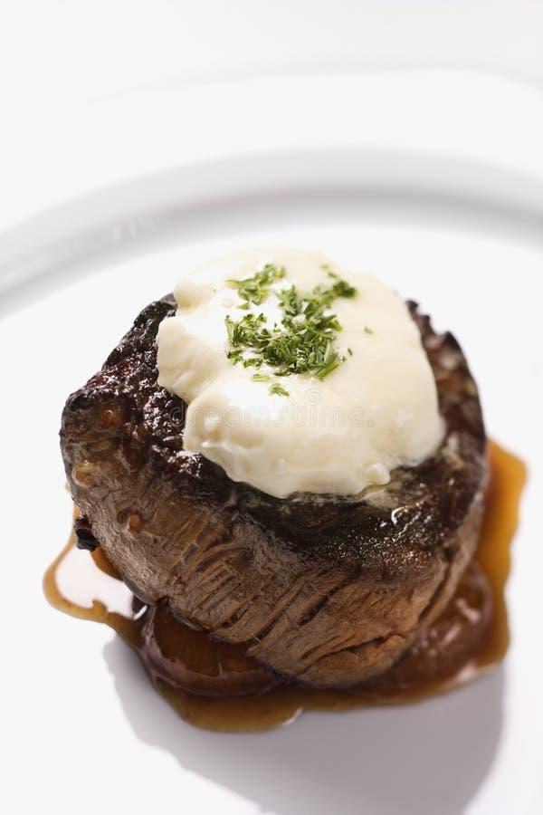 牛肉晚餐 免版税库存图片