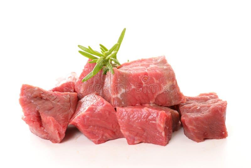牛肉查出的原始 免版税库存照片
