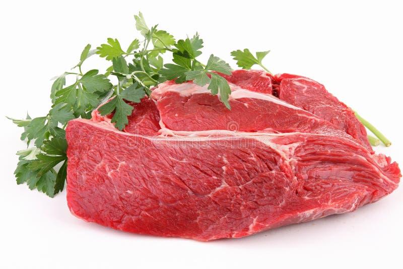 牛肉查出的肉 图库摄影