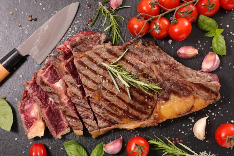 牛肉烤了 免版税库存照片