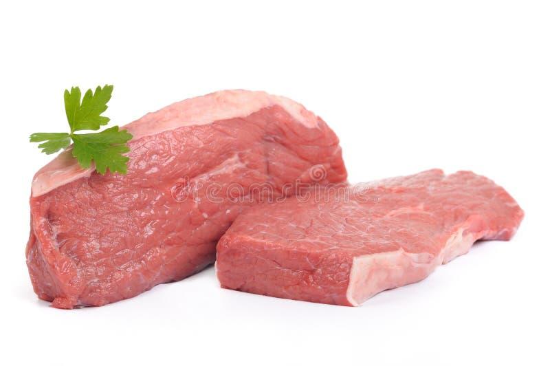 牛肉盖子烘烤臀部 免版税库存照片