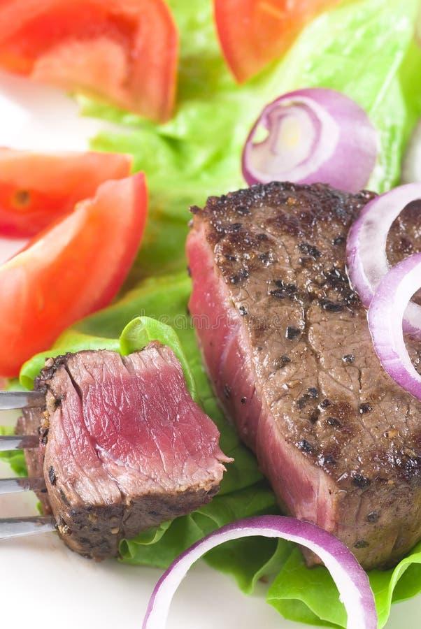 牛肉膳食 库存图片