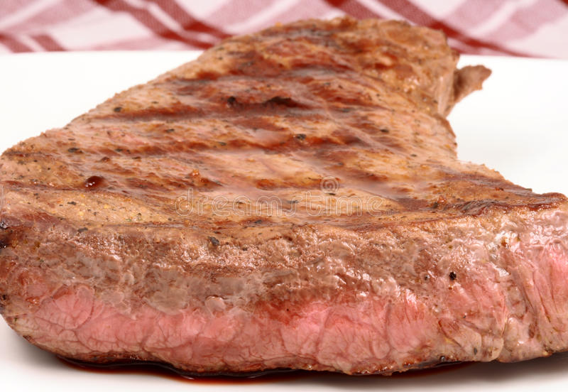 牛肉被盘问的招标 免版税库存图片