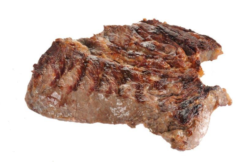 牛颈肉烤烘烤白色 免版税库存照片