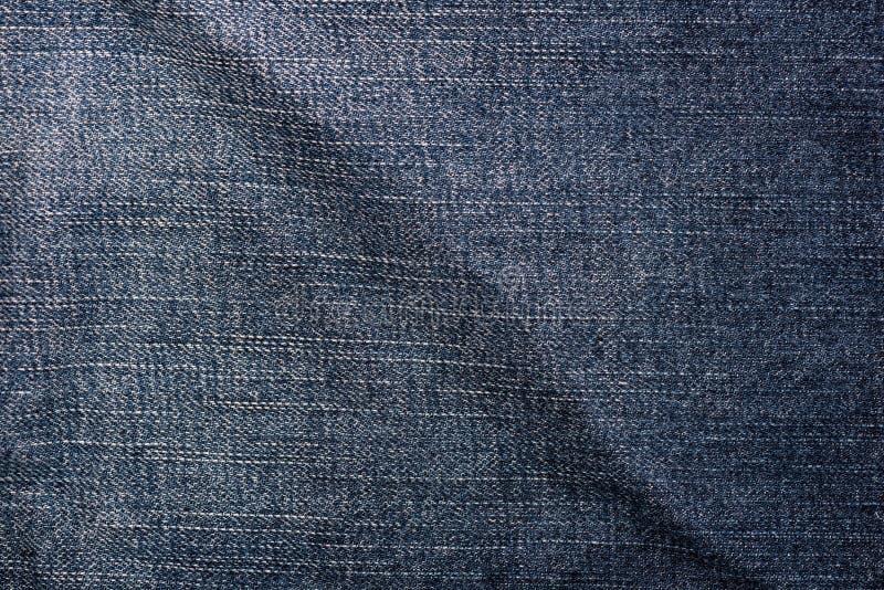 牛仔布斜纹布纹理 免版税库存图片
