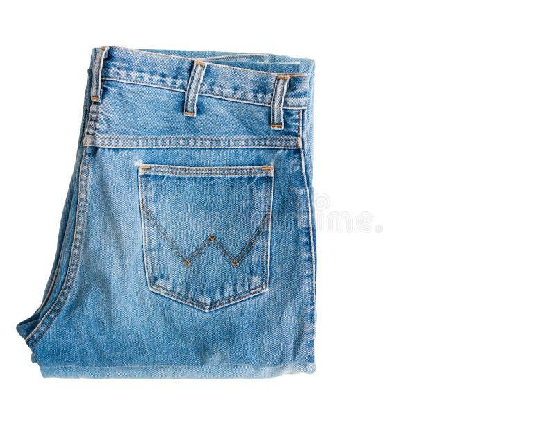 牛仔布牛仔裤 库存图片
