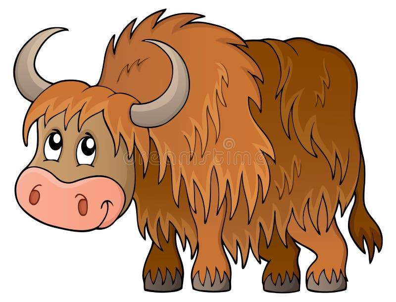 牦牛题材图象1 向量例证
