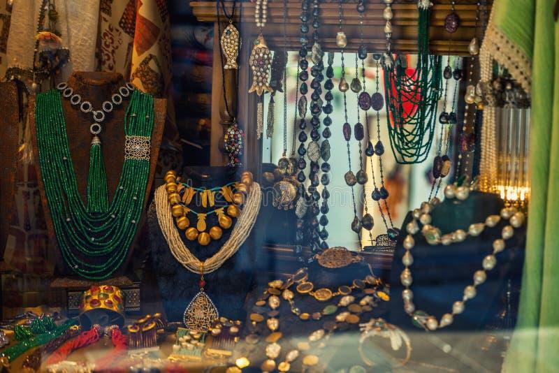 购物与纪念品,装饰项目,首饰  图库摄影