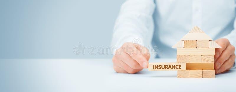 物产insurance.metaphor 图库摄影