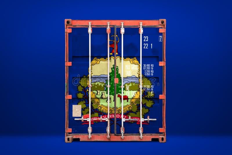 物品状态进出口和全国交付的概念  库存照片