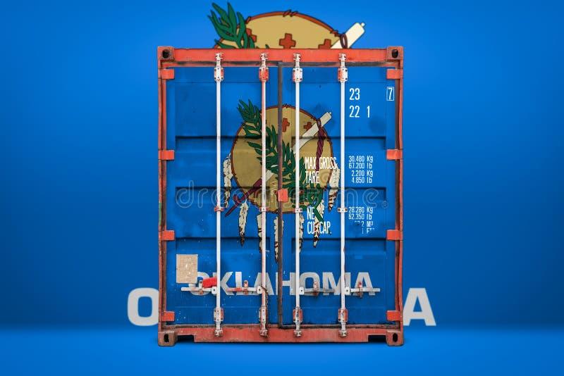 物品状态进出口和全国交付的概念  图库摄影