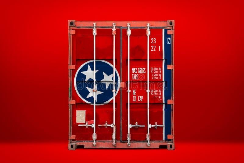 物品状态进出口和全国交付的概念  免版税图库摄影