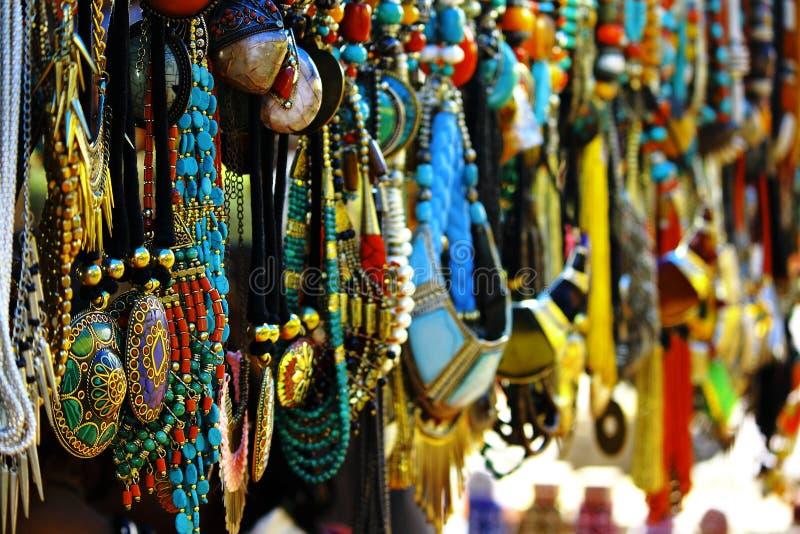购物在德里 库存图片