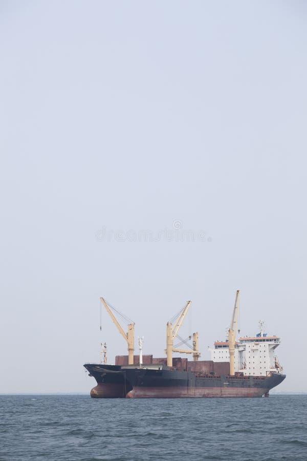 货物大船 免版税库存图片