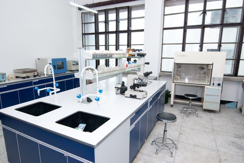物理实验室 免版税库存照片