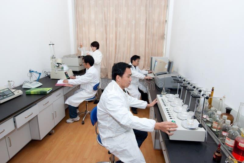 物理实验室 库存图片