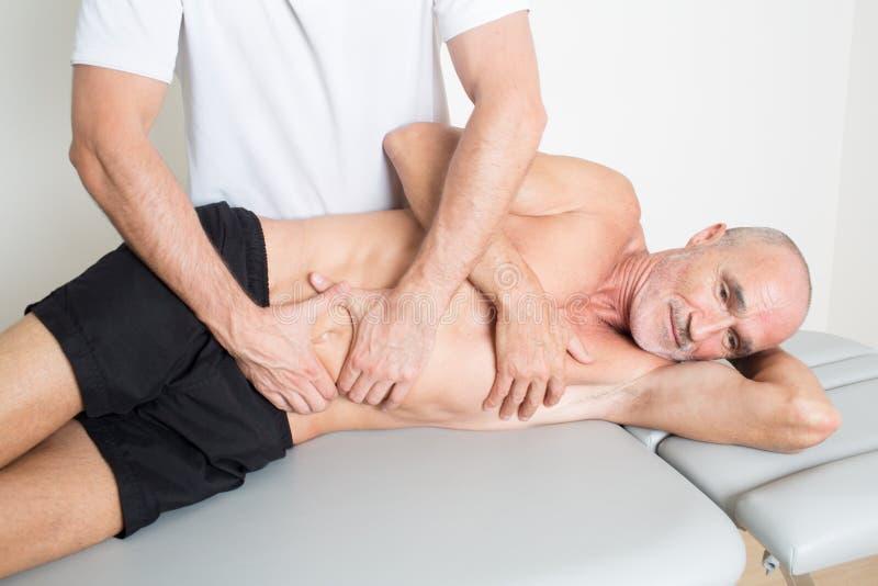 物理疗法的治疗 免版税库存照片