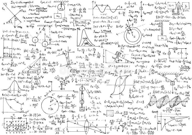 物理 免版税库存图片