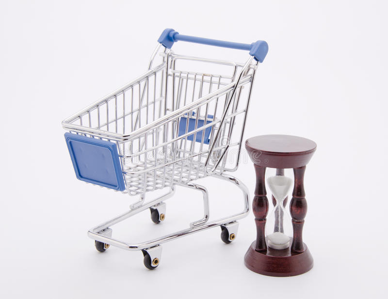 购物的时刻 免版税库存图片