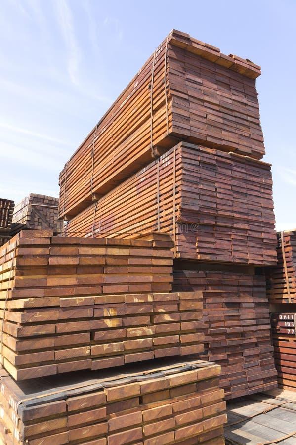 物质木头 免版税库存图片