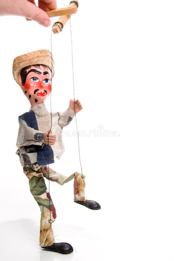 牵线木偶 库存图片