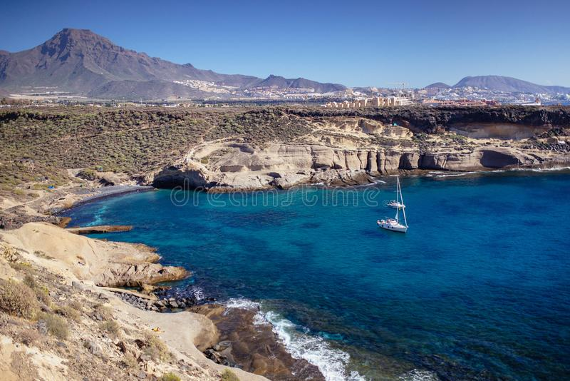 特内里费岛和El泰德峰 欧洲,风景 库存图片