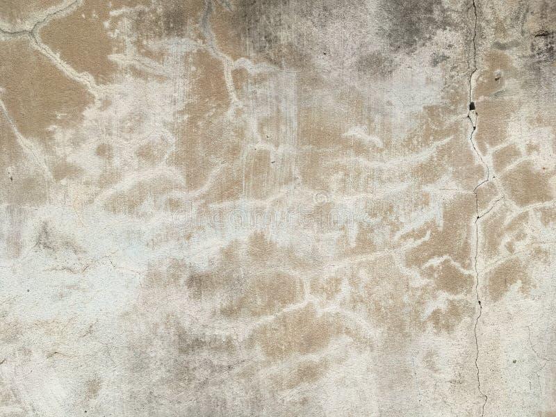 特写旧水泥墙 库存照片